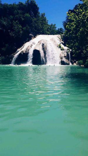 Nature Summer Waterfall Views