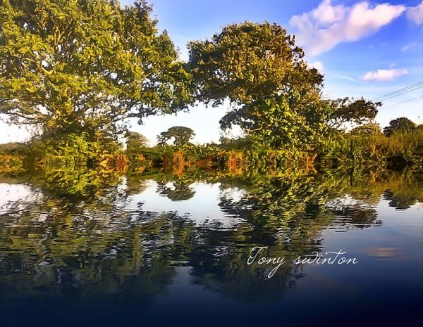 Time To Reflect Sunset #sun #clouds #skylovers #sky #nature #beautifulinnature #naturalbeauty #photography #landscape Popular Photos Eyem Best Shots