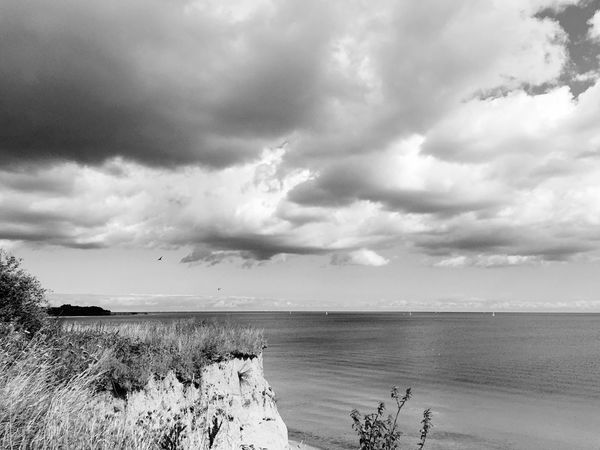 Sea Beach Sky Horizon Over Water Water Nature Tranquil Scene Scenics Tranquility Beauty In Nature Cloud - Sky Sand Day Outdoors No People