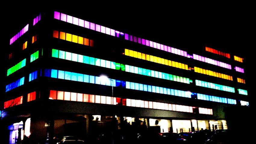 Shine on you crazy car park Car Park City Lights Night Lights Lights Lightshows