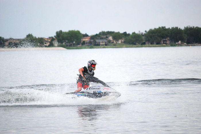 One Person Headwear Adults Only Adult People Speed Adventure Sport One Man Only Young Adult Only Men Day Full Length Outdoors Water Nature Sky Jet Boat Recreational Pursuit Exhilaration Nikonphotography Colorado Photography Nikond80 Coloradophotographer Extreme Sports