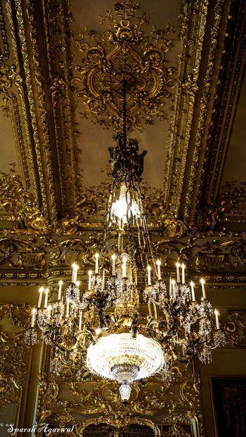 43 Golden Moments Golden room at Windsor Castle