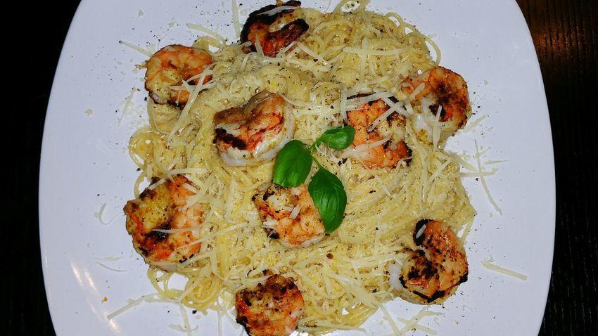 Shrimp pasta! Foodporn Shrimp! Yummy Ironchefskillz Cheese Freshy