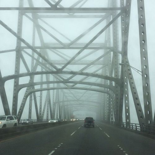 Nature Weather Bridge Creepy Fog Roadtrip Cloudy Iphoneonly Photooftheday Picoftheday Nofilter Louisiana Justgoshoot South Igers Drizzle Instagood Instalike Iphone5s BatonRouge Mississippiriver Shutterbug_collective Wx Jj_louisiana Meteorology Capitolcity Southernlife Onlylouisiana Louisianatravel Sc_white