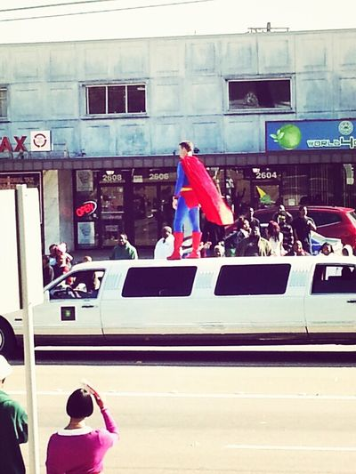 Superman Is Gonna Fall Lol