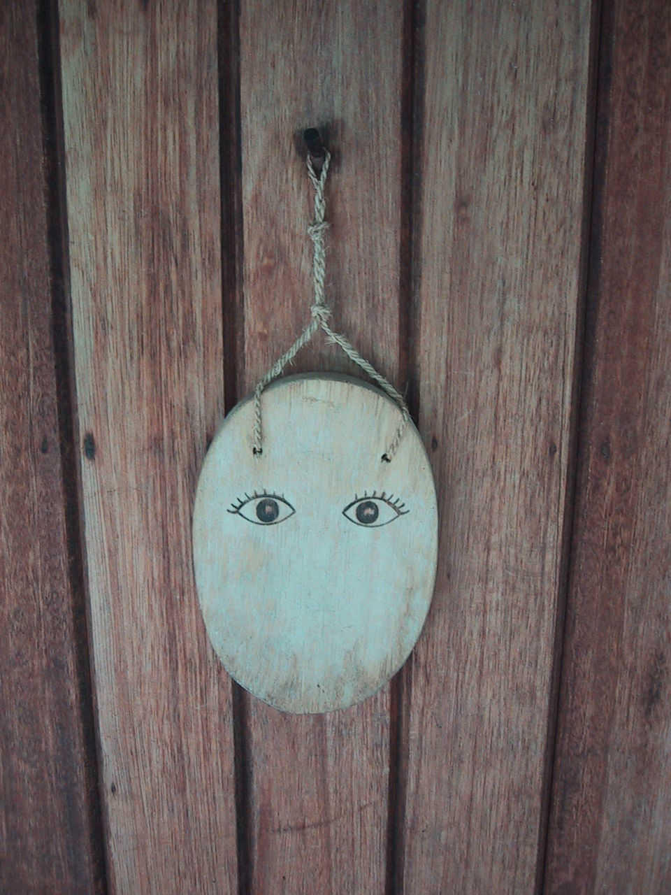 hanging, wood - material, no people, door, day, close-up, outdoors