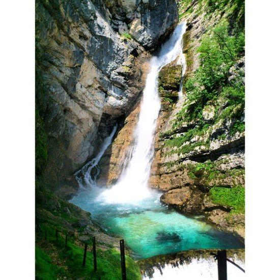 Water Fall Savica Beautiful naturemountainscoloursamazingcoldinstagoodinstahubinstaloveinstagrampicofthedayphotoofthedaylove