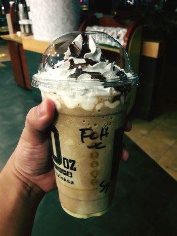 Drink Coffee - Drink Iced Coffee Close-up Cafe Caffiene Fix Frappe Cold Drinks Dr Café Thursday Night Khobar Saudi Arabia
