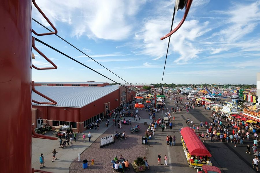 Taking Photos Nebraska State Fair Color Photography Check This Out Wide Angle Enjoying Life From Above  MidWest A Day In In The Life