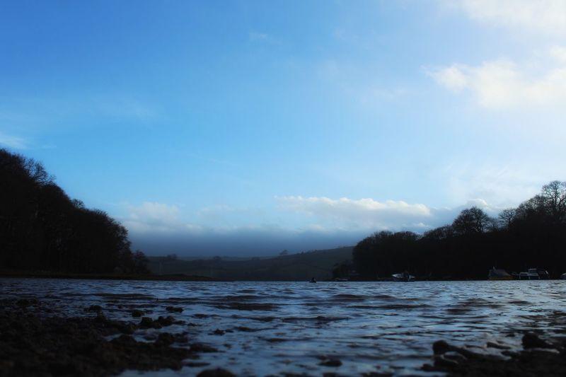 River Water Dusk Stoke Gabriel Fictional Album Covers Devon Landscape_photography Landscape_Collection Landscape