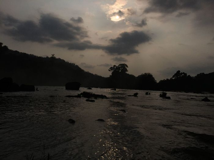 Nature Sunset Iphonephotography Athirapallywaterfalls Evening View