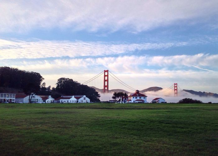 San Francisco really turnt it up this afternoon Golden Gate Bridge