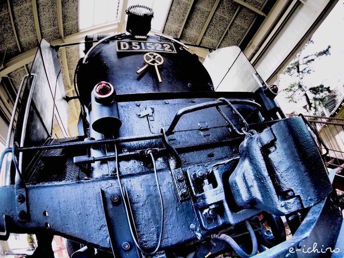 Strong Steam Locomotive D51 Train 蒸気機関車 Tadaa Community in Kanazawa-shi Japan