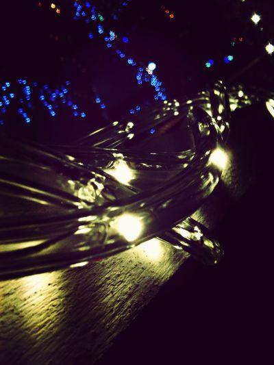 Lighting the Village.