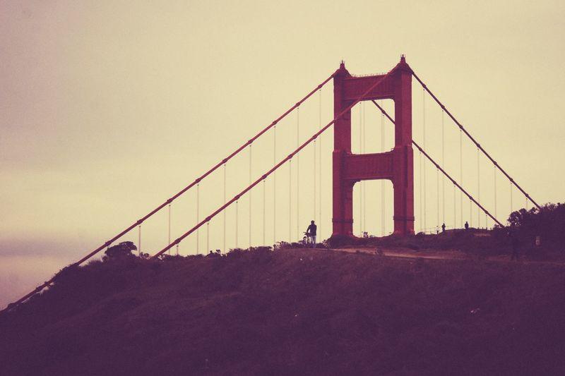 Top of the Golden Gate Bridge City San Francisco Landscape_photography California California Love Bridge Architecture Architecture_collection