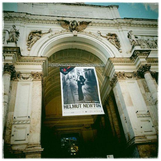 Helmut Newton a Roma Snapseed Igersroma Picoftheday Roma rome italy vignette igersitalia