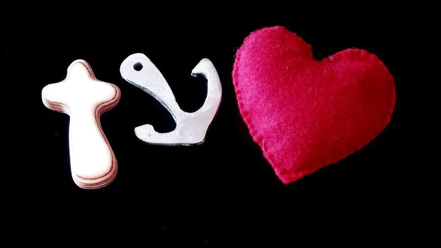 Hope Faith Love Symbols