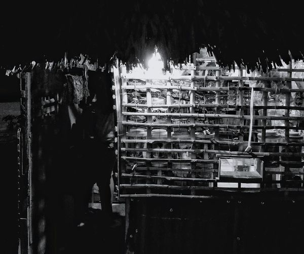 Sari-sari store at night Nightshot Monochrome Photography Orientalmindoro Travel Photography Nightstreetphotography Philippines