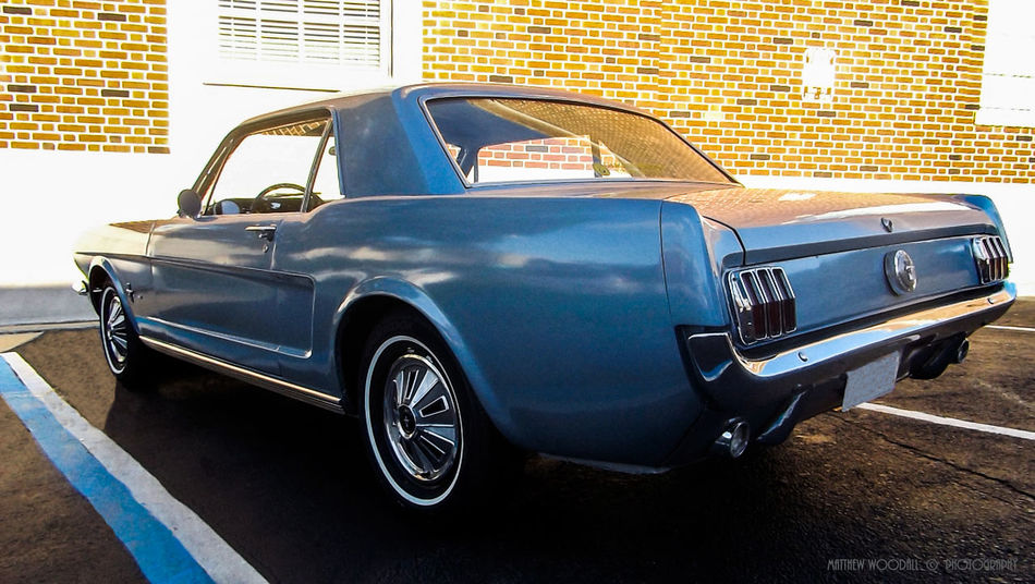 'Sky Blue '65 Ford Mustang' Car Clean Car Clean Ol Car Ford Mustang Mustang Mustang Love Retro Styled Transportation Vintage
