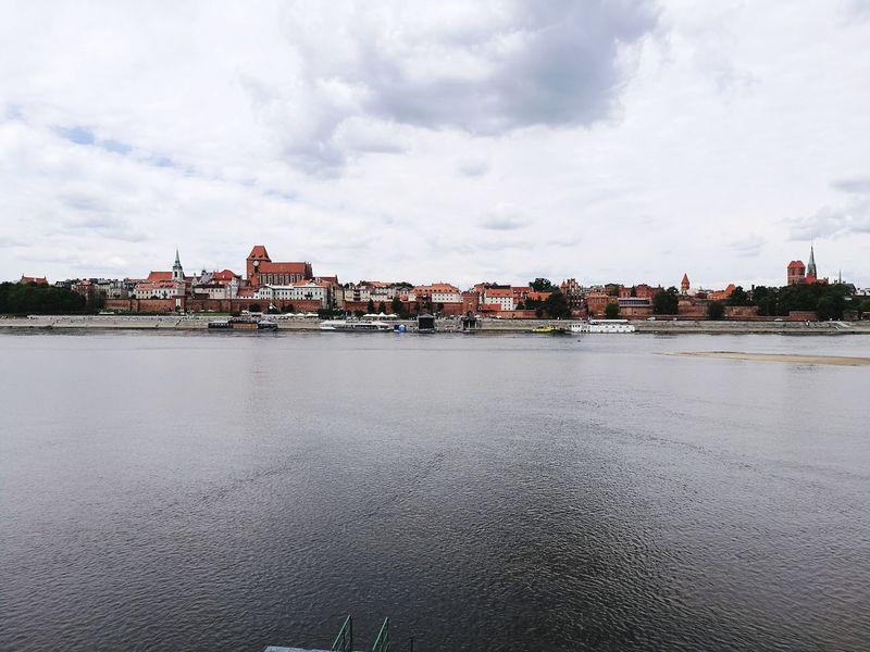 Toruń City Torun, Poland Cityscape Architecture Water Cloud - Sky History Travel Destinations