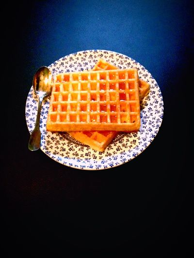 Breakfast Waffle Rainy Days Yummy Honey Miel Gaufres Paris Courbevoie