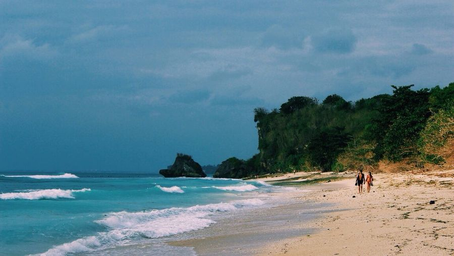 The Calmness Within only the echo of the sound of waves. Wanderlust Beach Bali