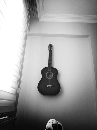 Gitar Blue Black