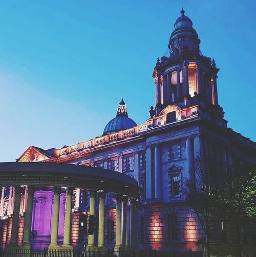 Architecture Building Exterior Politics And Government Illuminated History Outdoors Beauty In Nature Built Structure EyeEm Best Shots WeekOnEyeEm EyeEmBestPics Travel Destinations EyeEmSelect Belfast