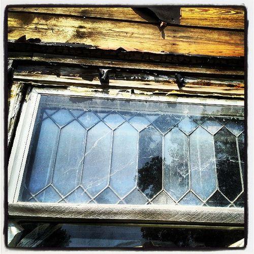 Leaded Glass Leaded Glass Window Oldhouse reflective