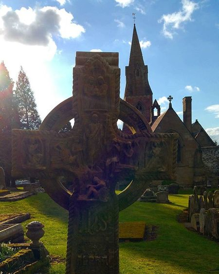 St John the Baptist Hagley. Taken during the 2016 Striking competition Instagood Igers IGDaily @hagleyhallevents Grave Gravestone Aj_graveyards Xploration_nation Decay Decaying Blackcountry Westmidlands Churches Church Towers Religion England Hagley Hagleyhall Sun Bluesky