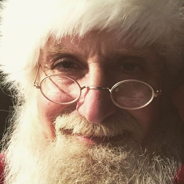 Kind. Caring. Thoughtful. Meaningful. Write a letter to Santa. LetterToSanta Looking At Camera Portrait Real People One Person Eyeglasses  Human Face Senior Adult One Man Only Santa Claus
