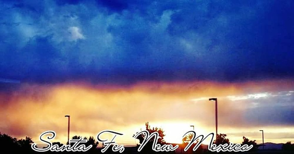 Nature Sky Cloud - Sky Outdoors Sunset NaturalBeauty Photography Newmexicosunset NewMexcio Followme