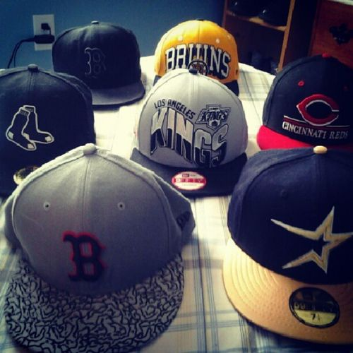 some of my hats Fitted Snapbacks 59fifty