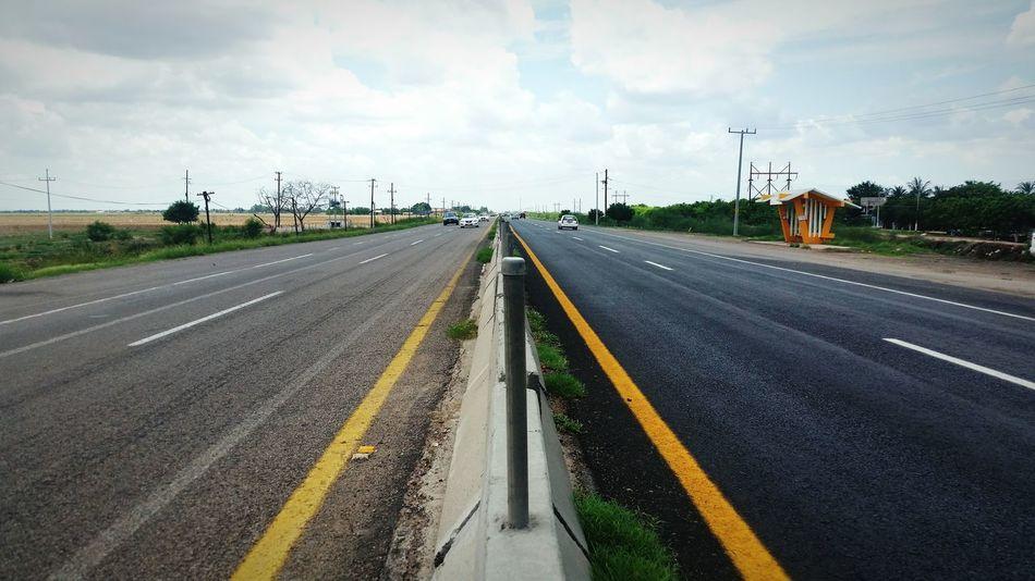 Highway Taking Photos