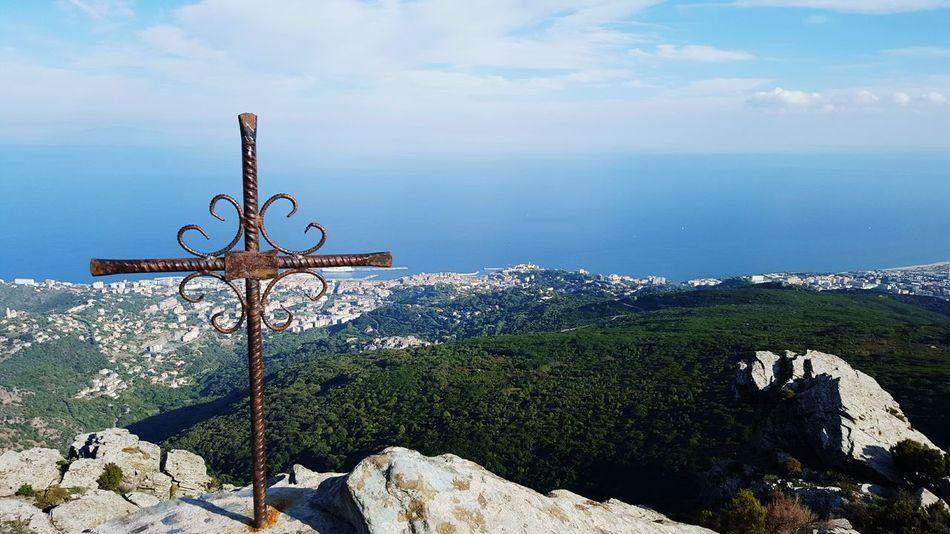 Nature Montagne Montagnes Paysage Paysages Corse Corsica Bastia Mer Croix Cardo