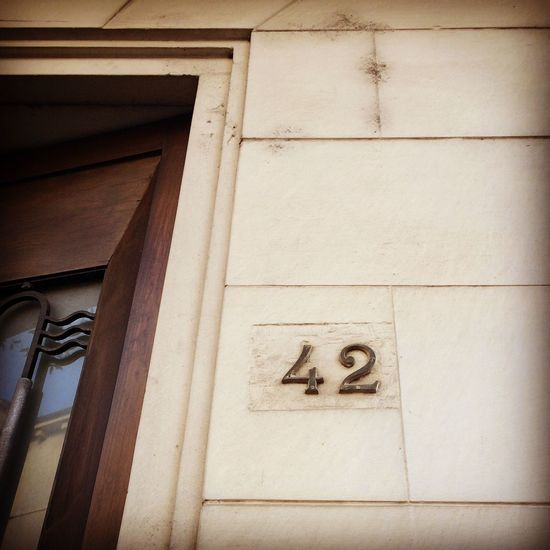 I live here, if you're looking for an Answer just knock ;-) 42  Dontpanic