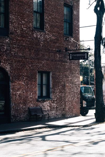On the street Savannah USAtrip USA Architecture Built Structure Building Exterior Street Outdoors City Day No People