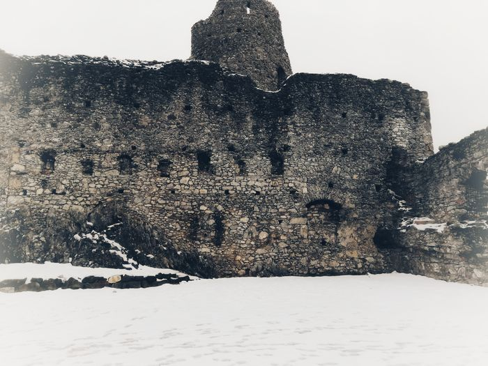 Snow Building History First Eyeem Photo Germany First Eyem Photo FirstEyeEmPic EyeEm Selects Travel Travel Destinations Photo Photography Historical Building History Ruins Old Ruin Old Buildings Winter Sky Historic Famous Place Civilization Historic Building