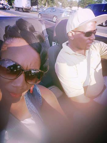 We're cruising! Boom Heshe Convertibllife Droptop  Wemakingnoise Holdup Simplethingsinlife