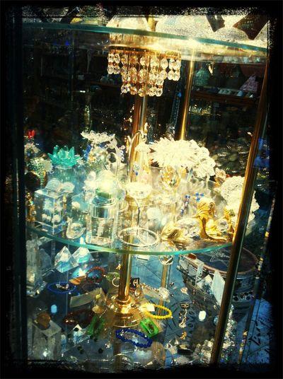 Hello World crystal in my stoer