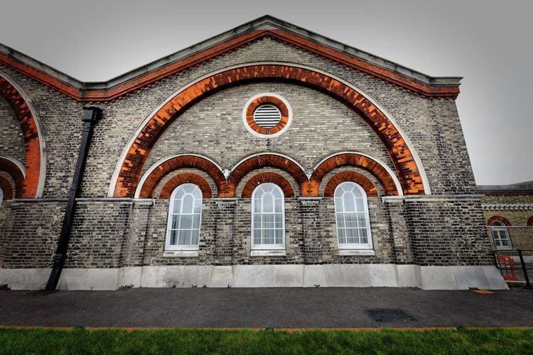 Crossness Pumping Station Architecture Built Structure Arch Building Exterior Building No People Day