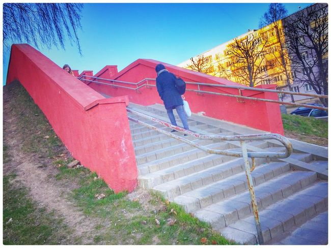 Minsk Belarus The Best! Suburbs Real People Day One Person Outdoors Colors Architecture Beauty In Nature Colorful