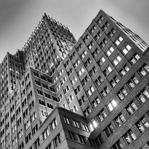 Kollhoff Tower Architecture Architecture_bw Black And White Fineart