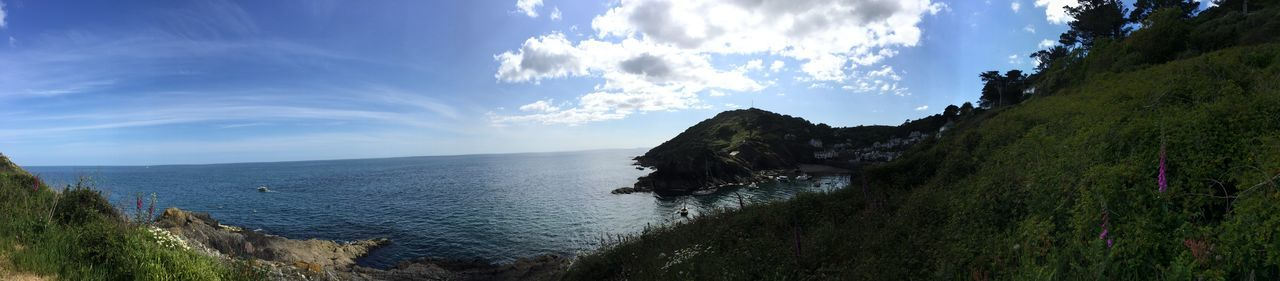 Panoramic Seaview Cliffwalk Iphone6plus