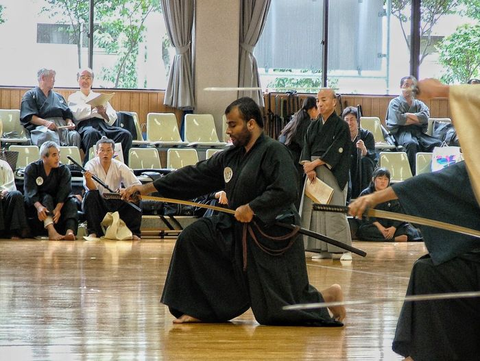 Memories from the past: Iaido test in Nagoya, Japan, September 2005 Japan Nagoya Nagoya-shi 日本 名古屋 名古屋市 Katana Sowrd Martial Arts EyeEm Best Shots Fujifilm S5000 Fujifilm