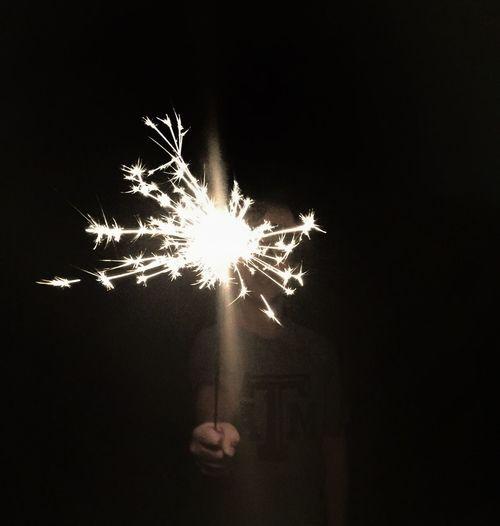 Boy with sparkler Boy Sparkler Outside Fireworks Fourth Of July