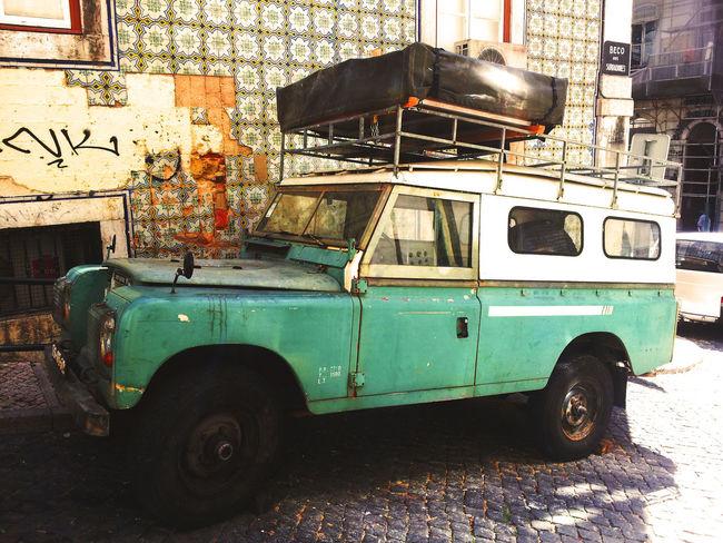 Land Rover Landrover  Vinatge Classic Car Cian Old Oldcars Oldcar Mode Of Transport Transportation Land Vehicle Car Stationary Day Outdoors
