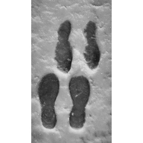 Snow Love FootPrint Loveprint Footmark Lovesign Foot Couple Erbil Hawler Kurdistan Instakurdish Kurdishinsta