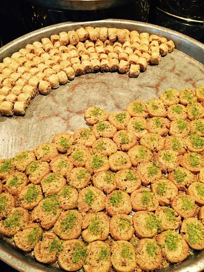 Travel Baklava baklava Sweet Shop Arabic Sweets Sweets For Sale Dubai UAE Dubai Iphoneonly IPhone IPhoneography Travel Destinations Foodphotography Plenty Abundance Dessert EyeEm Diversity Food Stories