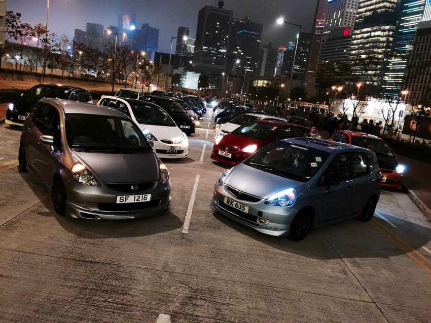 Honda Honda Fit Jazz HongKong Hong Kong IFC Taking Photos Car I Love Hong Kong Lucky